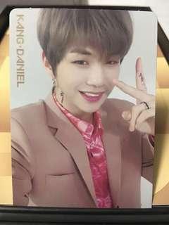 Kang Daniel wanna one official photocard