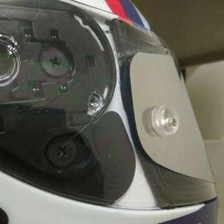 Tear off + Tear post 1 set - Visor KYT  SHOEI X12 X14 AGV