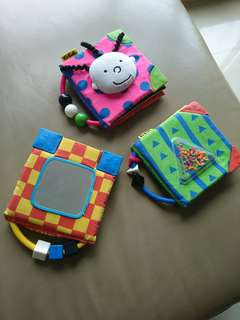 Baby cloth books (A set of 3)