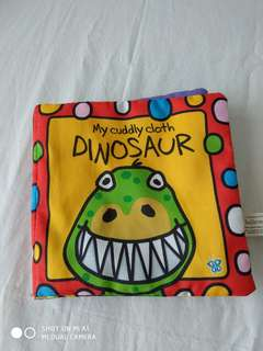 Dinosaur Cloth Book