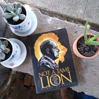 Preloved Book: Not A Tame Lion