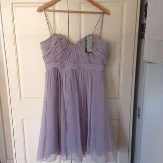 Forever New Woven 40s Sweet Heart Dress