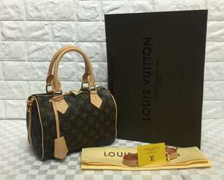 "Louis Vuitton  speedy 25"" Handbag"