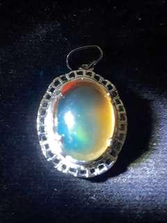 Mustika Katilayu biru kuning ( Blue yellow Amber )  Nickname : Fishing Amulet Self collection at hougang ave8 or Punggol Drive under my blk. Mailling @ $5