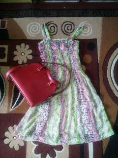 Promo!!! Dress+bag kate spade