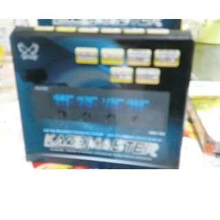 Scythe KAMA MASTER 5.25 Panel KM01-BK (黑色)風扇控制器可控4組風扇(日本品牌全新)