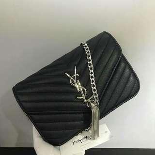 YSL Sling Bag Black Color