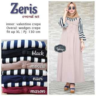 ZERIS OVERALL SET BY HIJAB SISTER'S