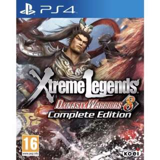 DYNASTY WARRIORS XTREME LEGENDS PS4
