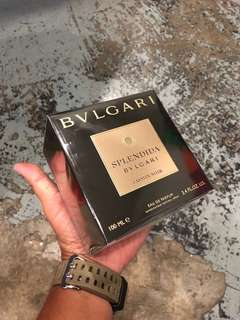 Authentic Original Bulgari Splendida Jasmin Noir EDP Perfume 100ml Limited Stock First Come First Served!