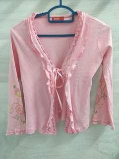 Pink Girl Cardigan