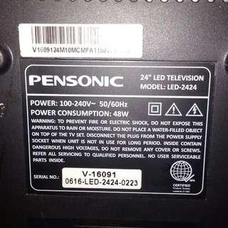 pensonic 24 led television