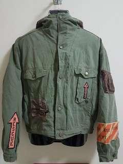 Vintage 80's Diesel Dept Work Jacket