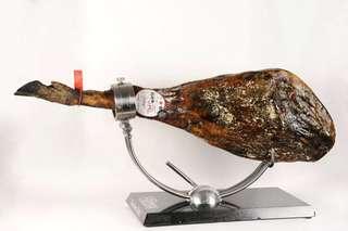 Iberian Ham sliced by hand