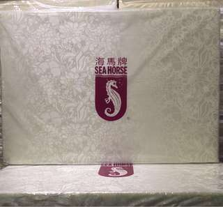 FREE DELIVERY! Seahorse Foldable Mattress, 3 fold, kids, guest sea horse bed