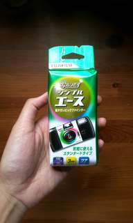 Fujifilm Quicksnap Disposable Camera Simple Ace (huji/kuji) 35mm