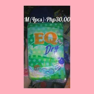EQ dry Diaper
