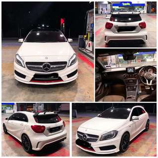 SAMBUNG BAYAR/CONTINUE LOAN  MERCEDES BENZ A250 SPORT YEAR 2014 MONTHLY RM 3000 BALANCE 2 YEARS ROADTAX VALID TIPTOP CONDITION  DP KLIK wasap.my/60133524312/a250