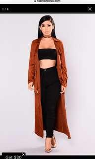 Fashion nova cardigan duster