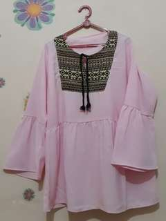 Baju pink light