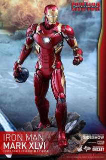 全新啡盒未開 Hottoys Hot toys IRON MAN MARK XLVI 1/6 MK 46