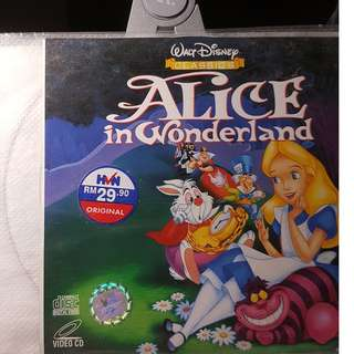 VCD - ALICE IN WONDERLAND (1951) animation family classic