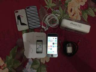 Iphone 5c 16GB warna Putih