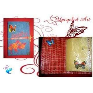 Handmade and Upcycled Journal