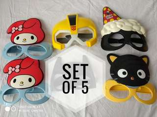 Assorted McDonald's Mask