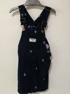 Osh Kosh Girls Jumper/ Overall