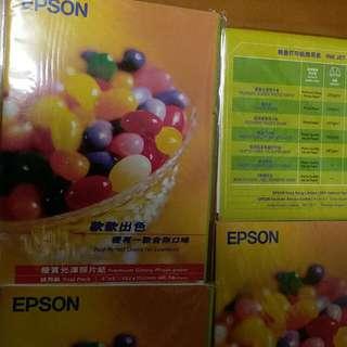 Epson相片打印紙