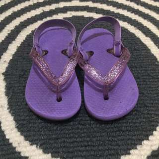 Summer Baby Slippers - Purple