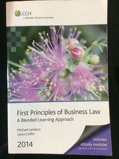 First principles of business law 2014