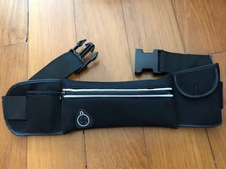 Waist pouch for walking your dog