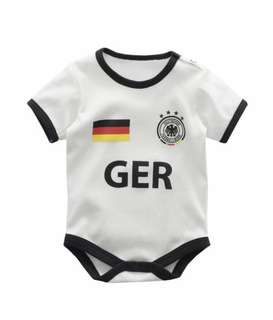 Football Germany Baby Romper