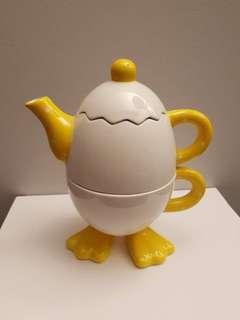 One cup tea set