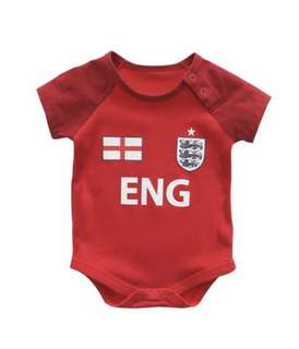 Football England Baby Romper