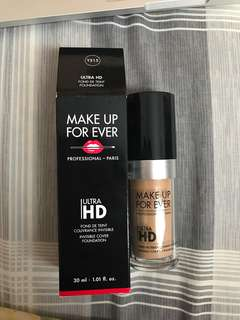 [ SHARE 3ml ] Mufe Make Up For Ever Ultra HD Liquid Foundation