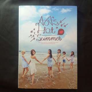 AOA HOT Summer 1st photobook RARE