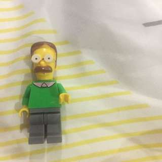 Flanders From The Simpsons Lego Like
