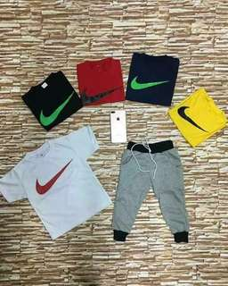 Nike terno for kids 1-10yrs old size S to XL