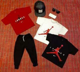 Jordan terno for kids 1-10yrs old size S to XL