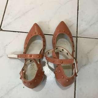 Beautiful fashionable sandals