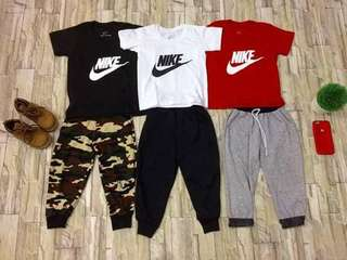 Nike terno for kids 1-10yrs old size S to XL (shorts and pants only)