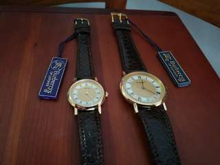 Burberry Authentic couple watches