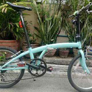 For sale Jour dahon patent newly repainted  Pm pm pm Yes still available 👍👍👍