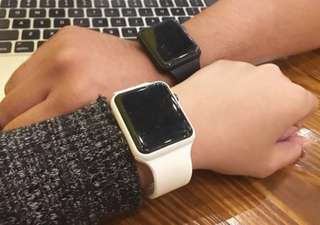 Jam replika mirip apple watch