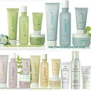 Skincare jafra tester