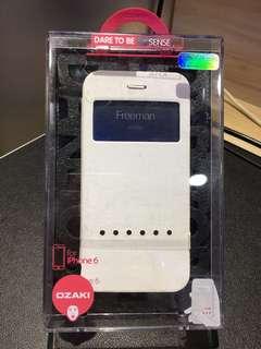OZAKI Folio Case W/Swipe Technology (iPhone 6)白色