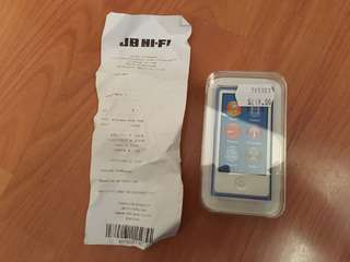 iPod nano brand new unopened with receipt